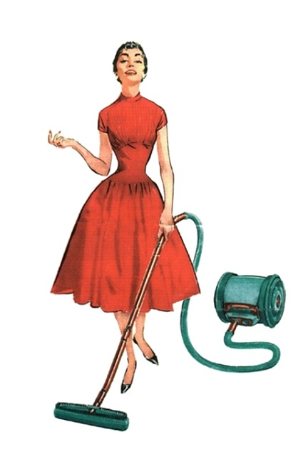 woman cleaning photo