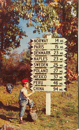country signpost photo