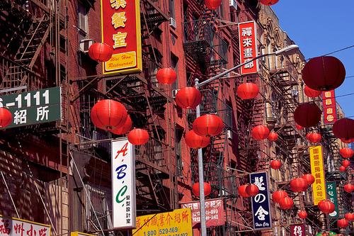 chinatown new york photo