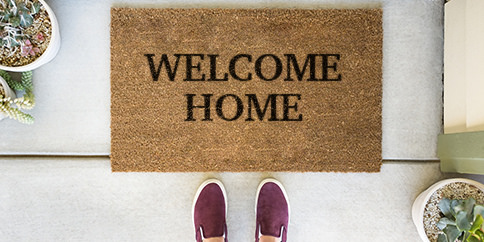 welcome doormat photo