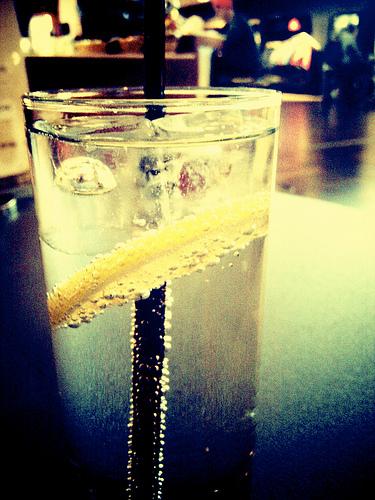 gin tonic vintage photo