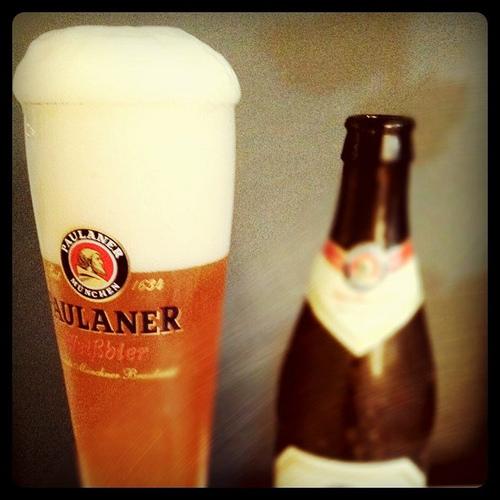 paulaner beer photo