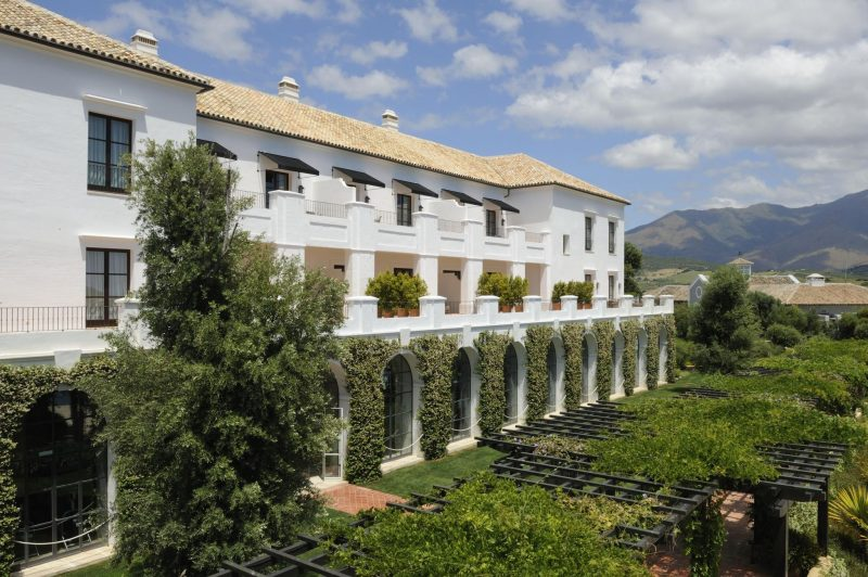 Finca Cortesin luxury expat retreat in Spain photo