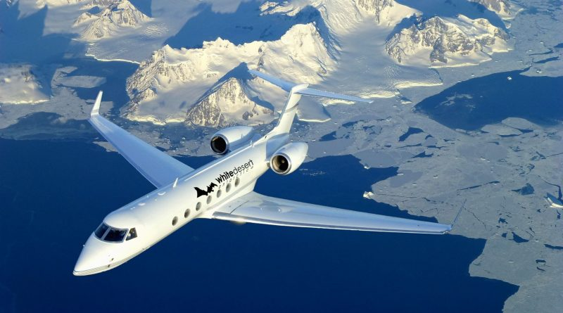 private jet South Pole Antarctica luxury expat escape photo