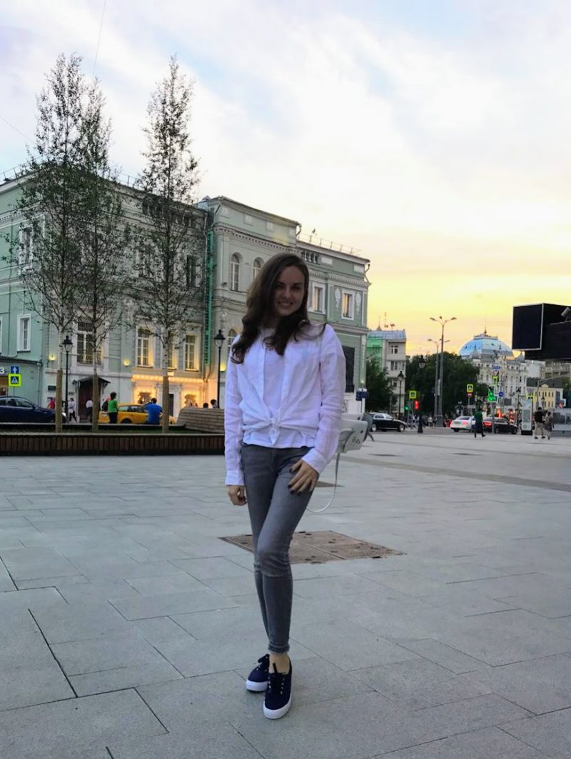 moscow girl photo