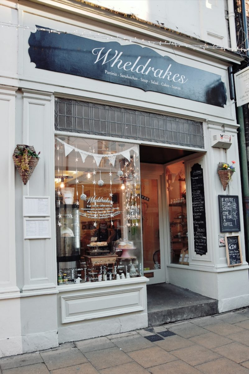 Wheldrakes cafe tea room York