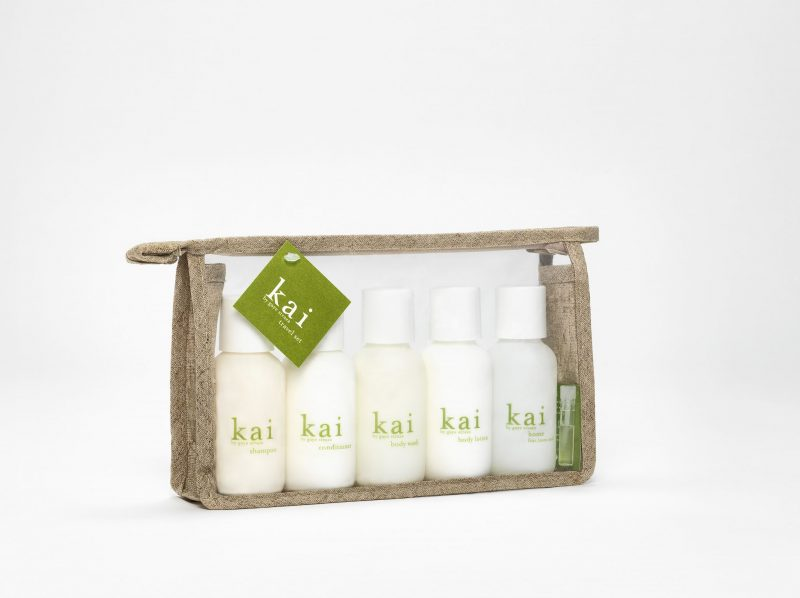 Kai fragrance - best travel beauty case for a natural, light scent