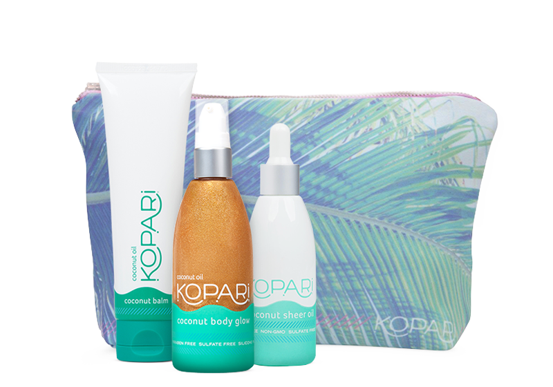 Kopari beauty bag - best travel bag for the beach