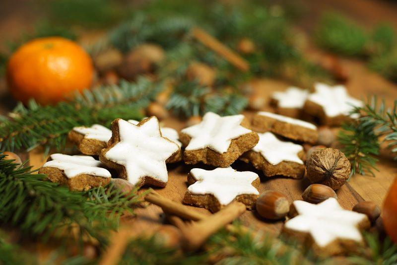 German Christmas cookies Lebkuchen