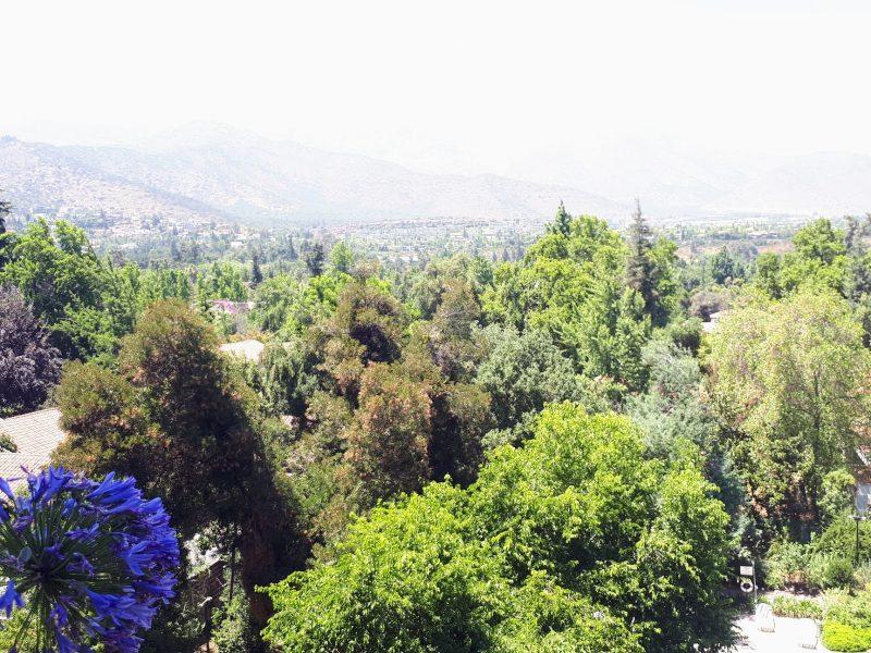 La Dehesa quiet suburb of Santiago, Chile