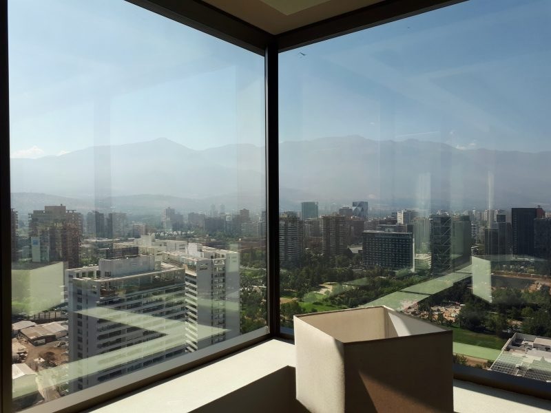 Beautiful view of Santiago, Chile