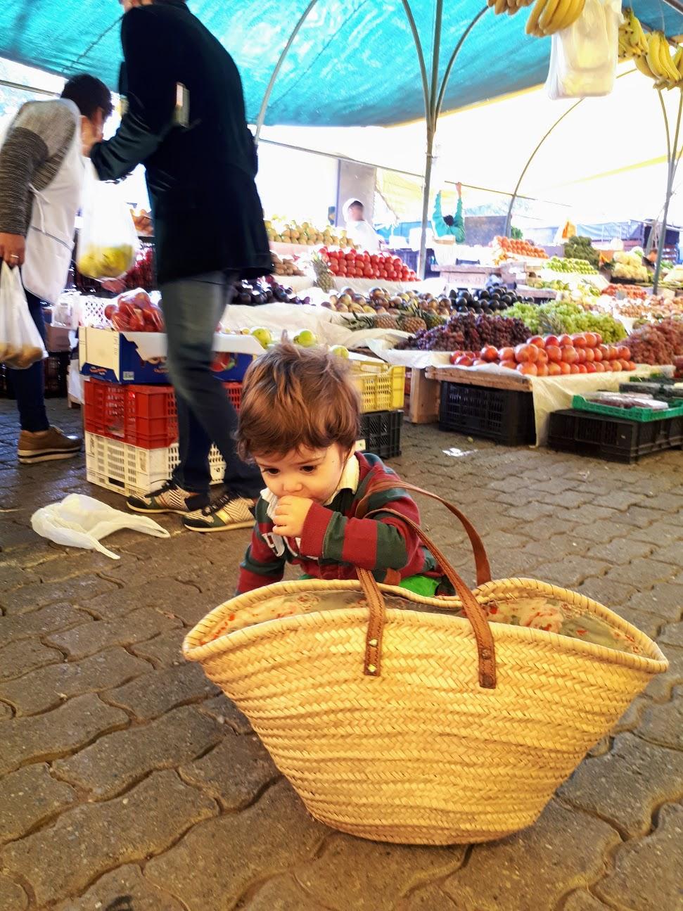 Market in Santiago