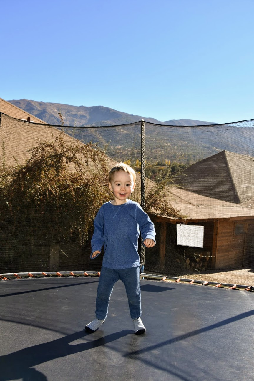 trampoline at San Francisco Lodge and Spa