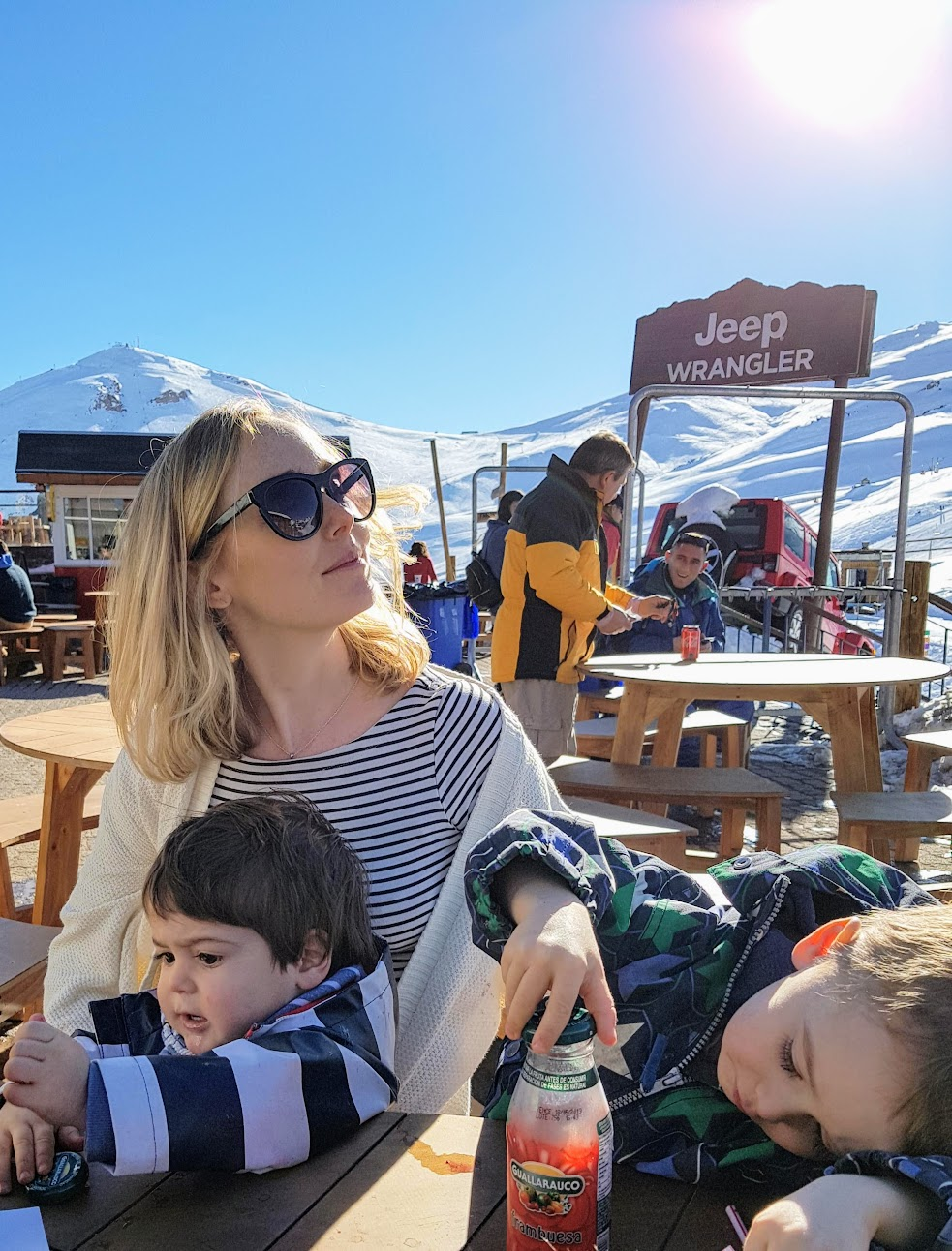 Expat mum in Chile