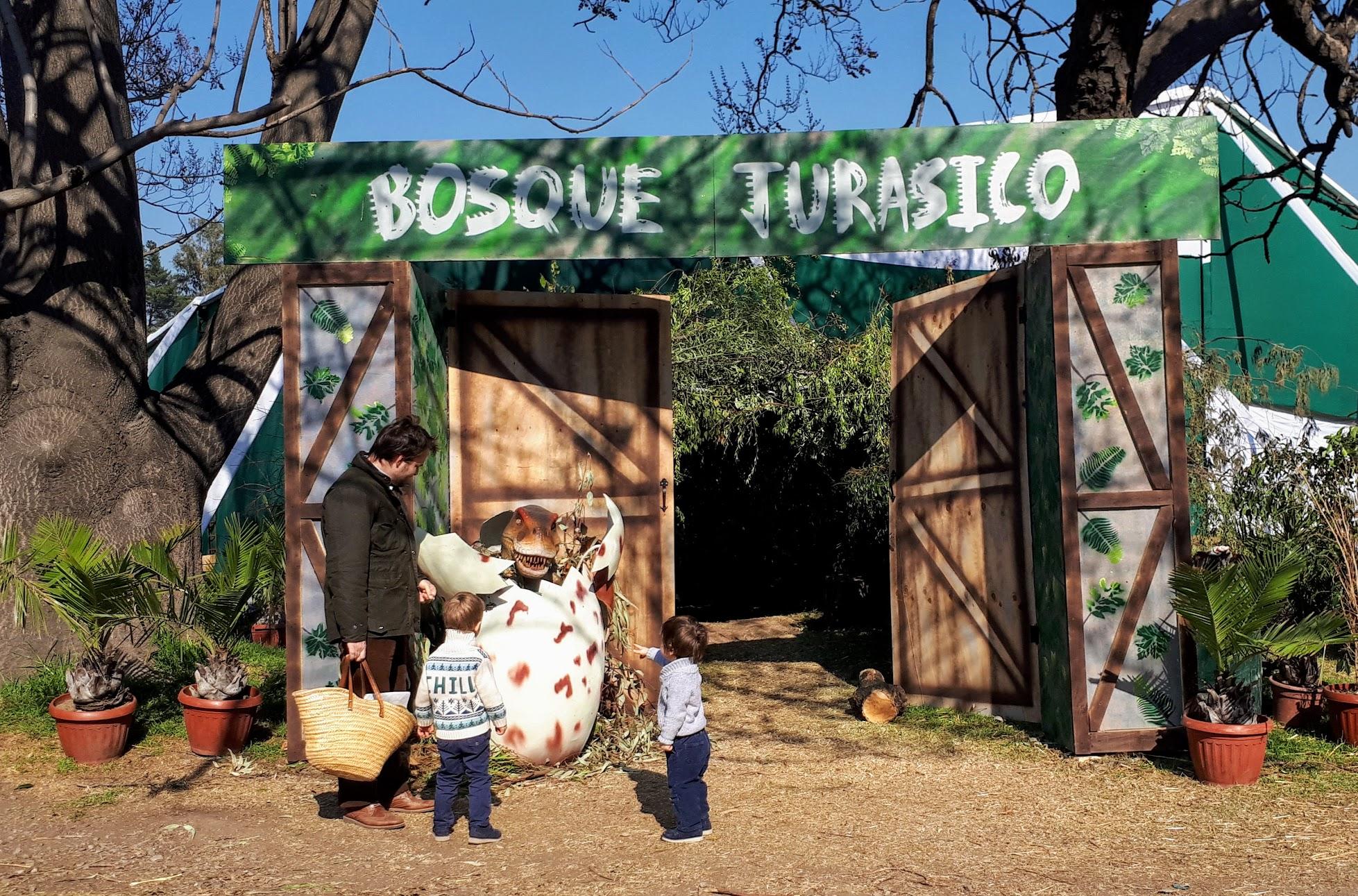 Bosque Jurasico Jurassic dinosaur park