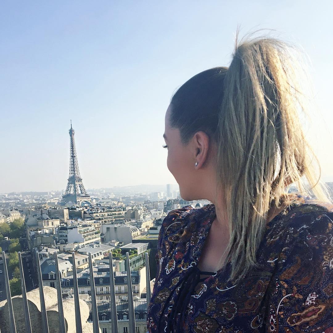 Pearls and Paris Shareen Medina