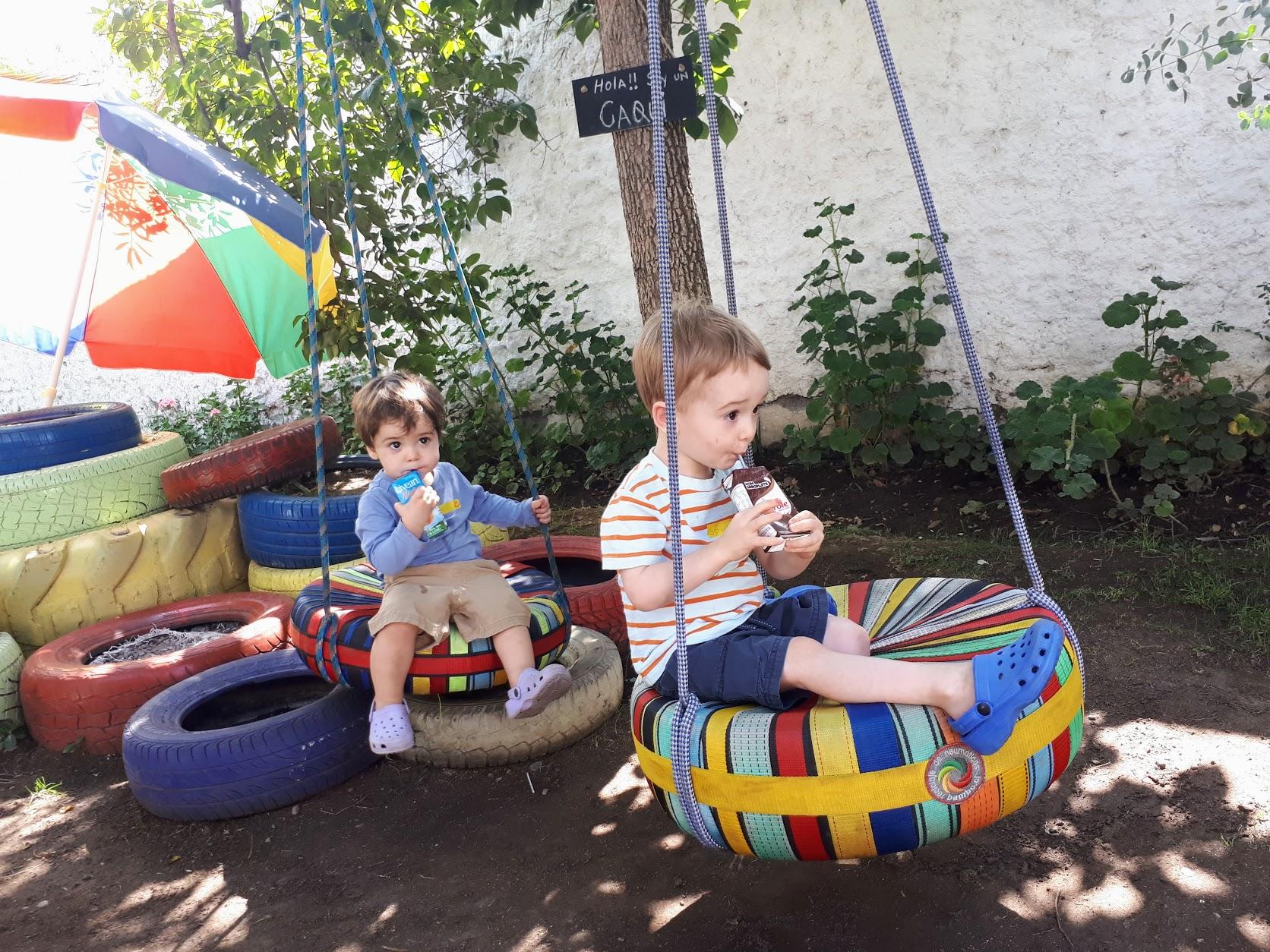 Cafe Gluck garden