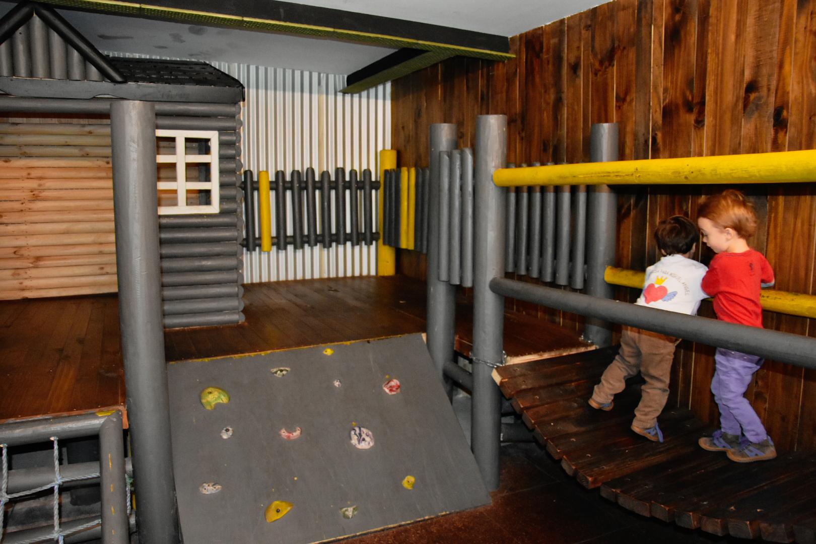 El Aleman Experto play area