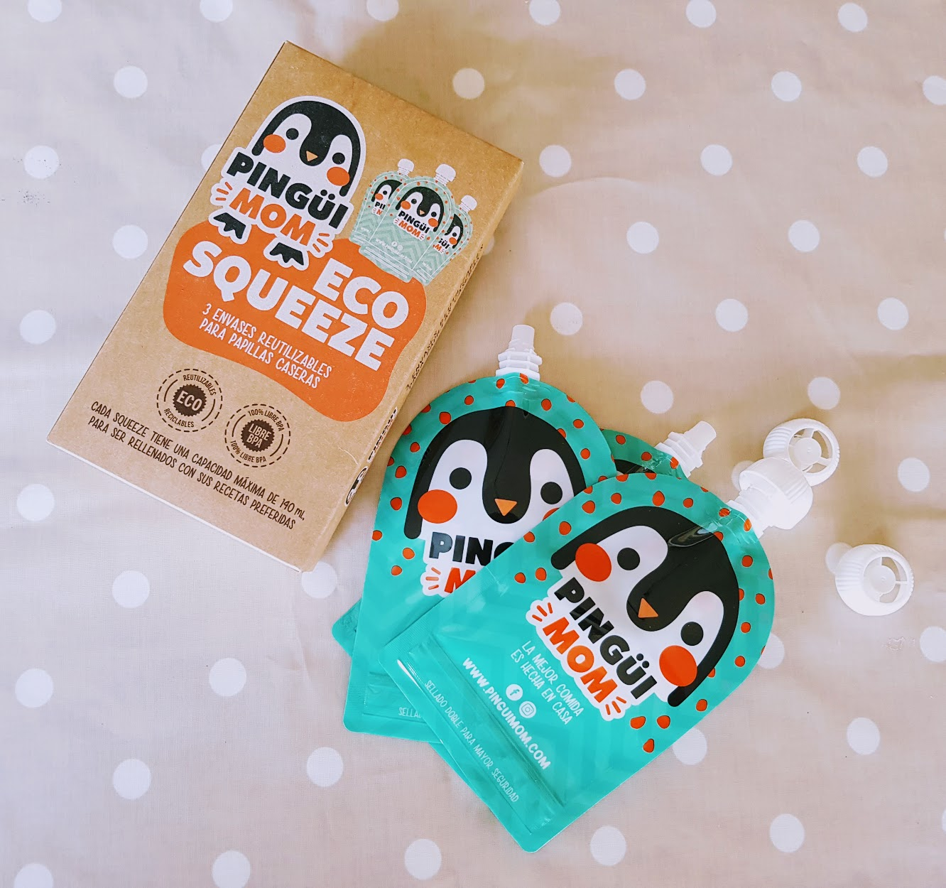Pingui Monm food pouch