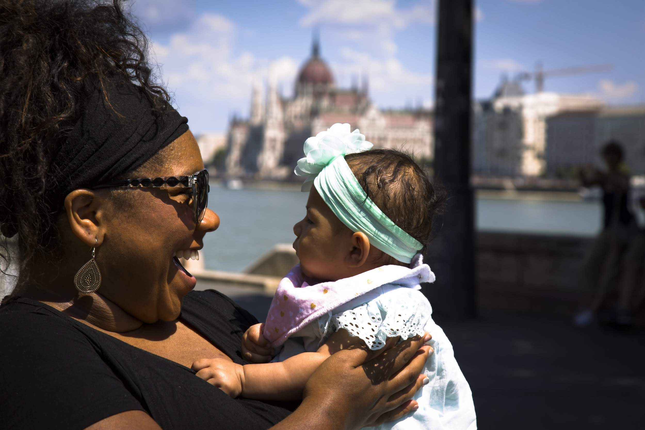 Expat mom in Budapest