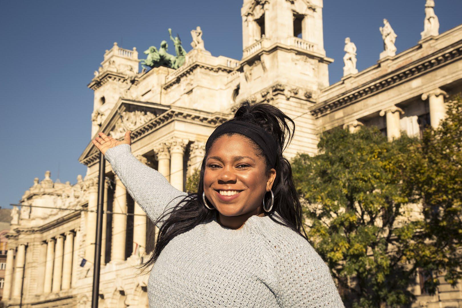 Black Girl in Budapest