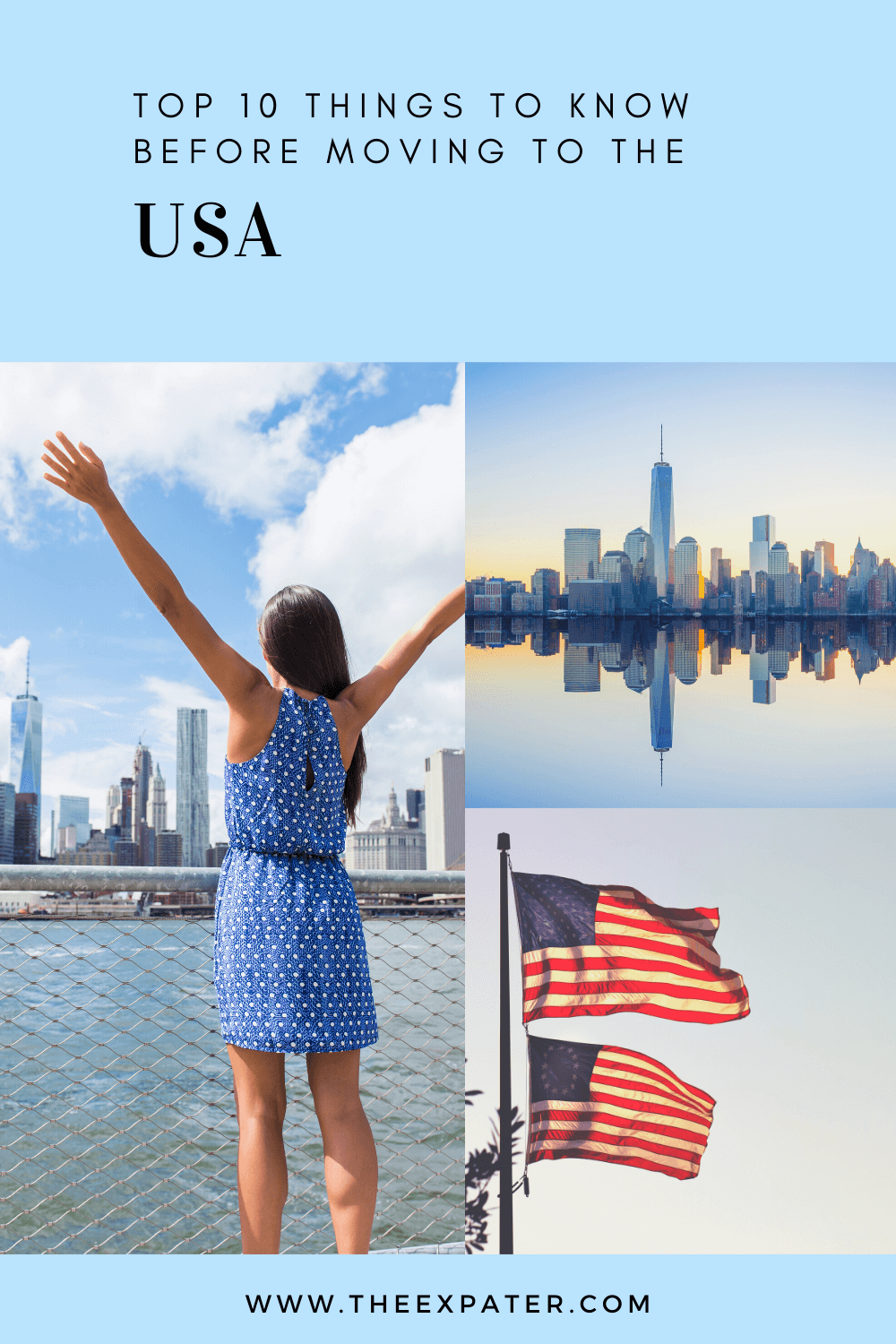 tips moving to the USA