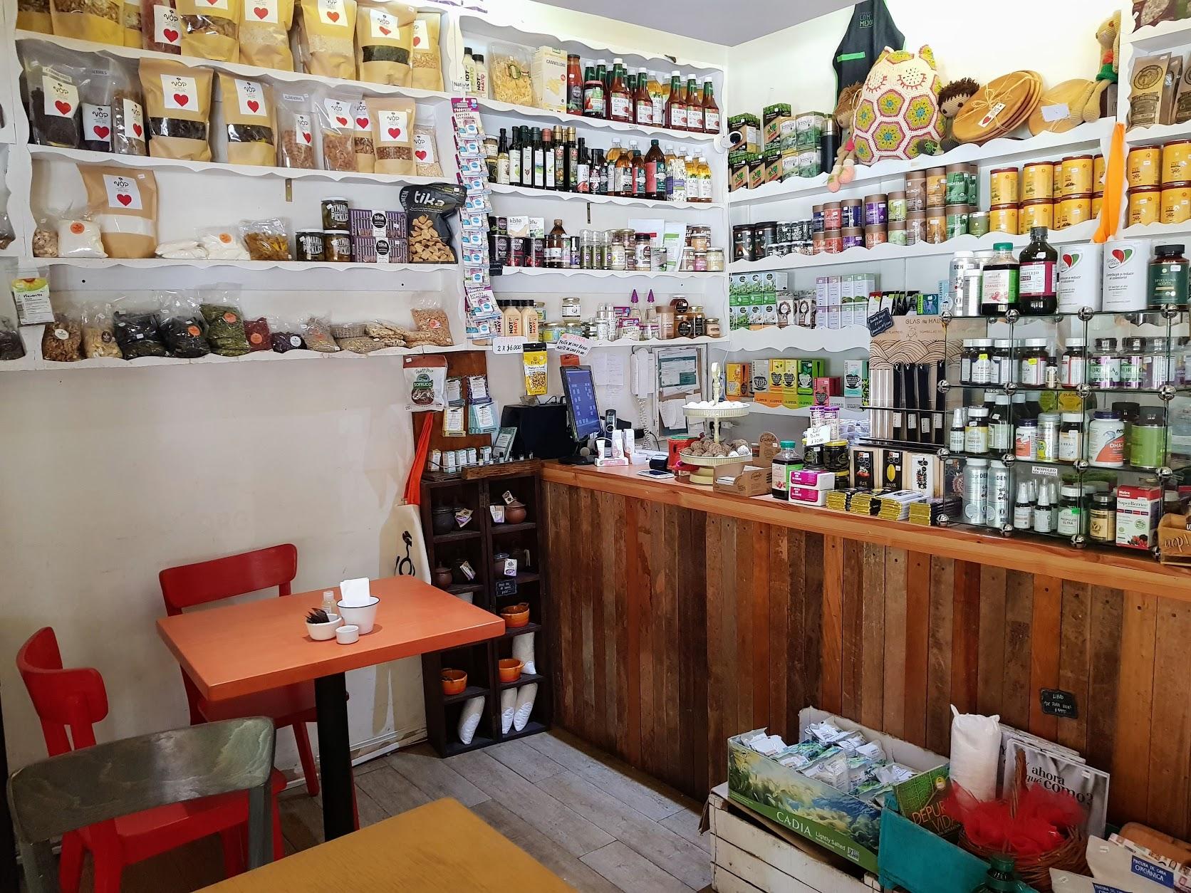 vegan health food store Las Condes