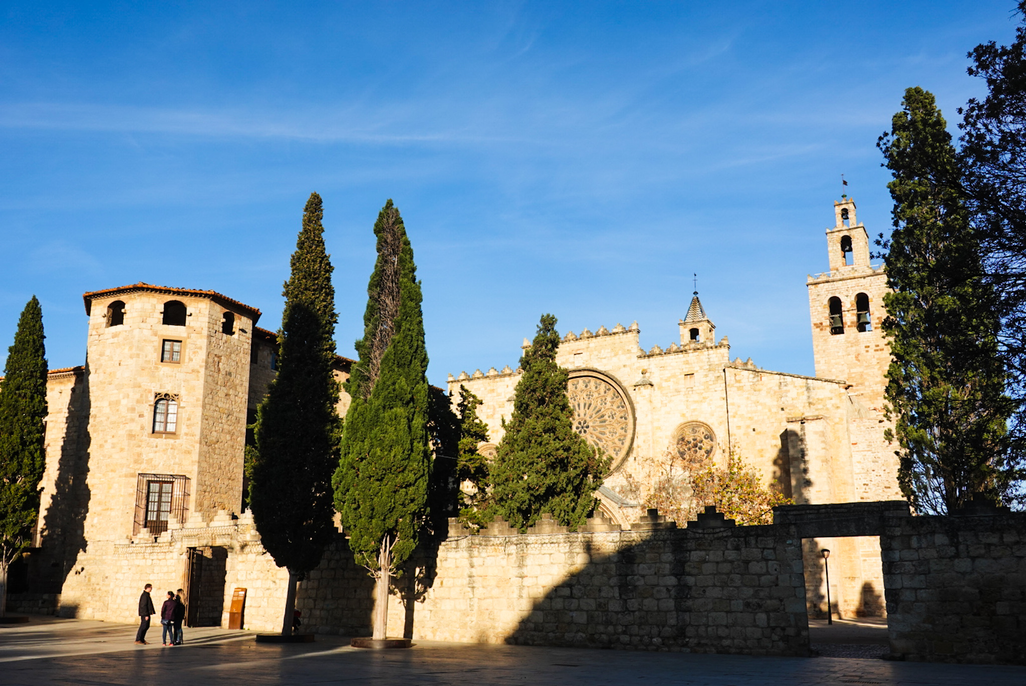 Monastery in Sant Cugat