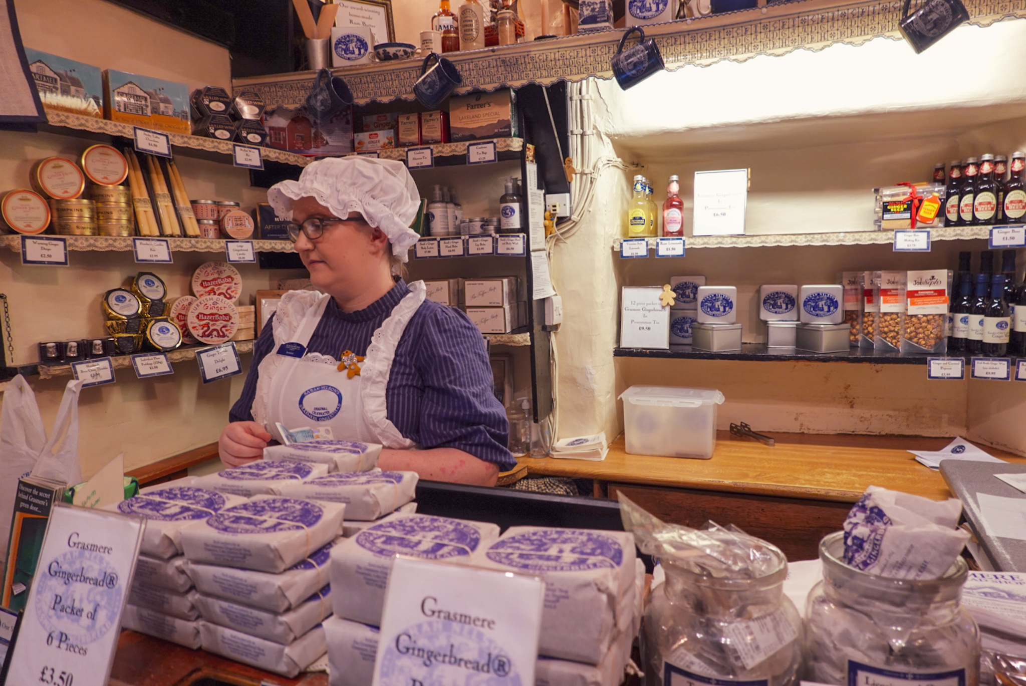 Sarah Nelson's Grasmere Gingerbread shop
