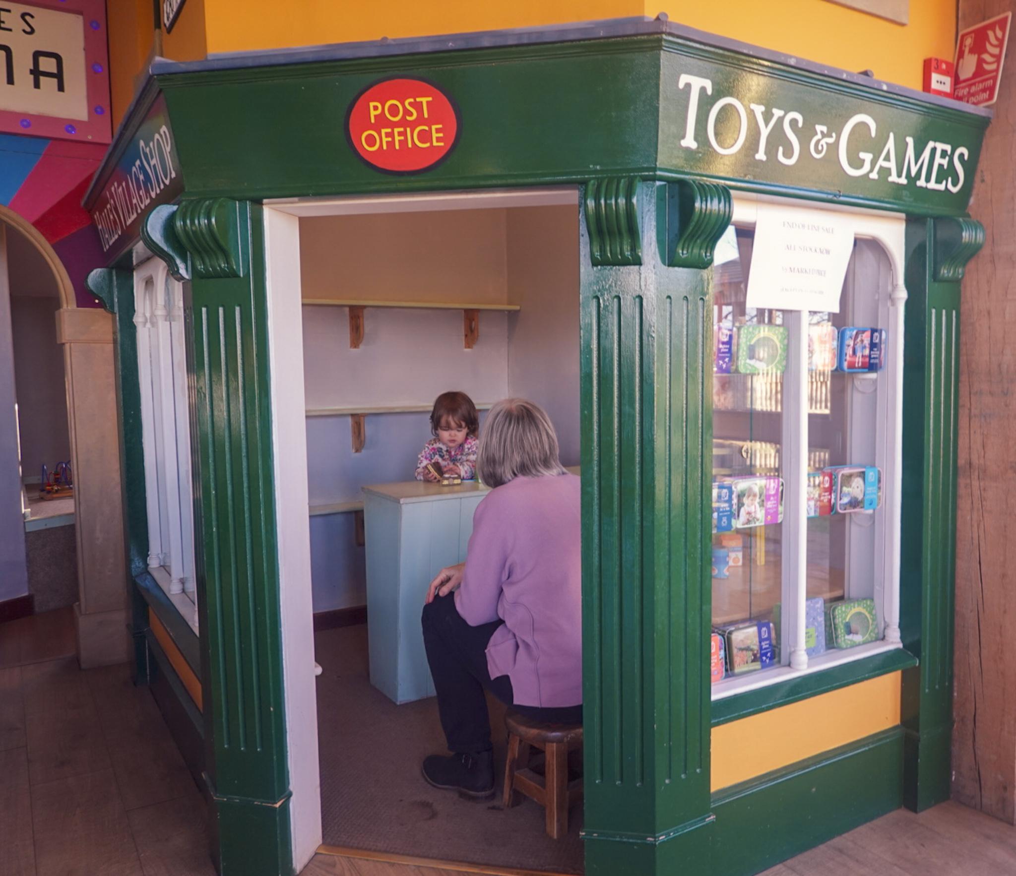 High Parks tea room play area