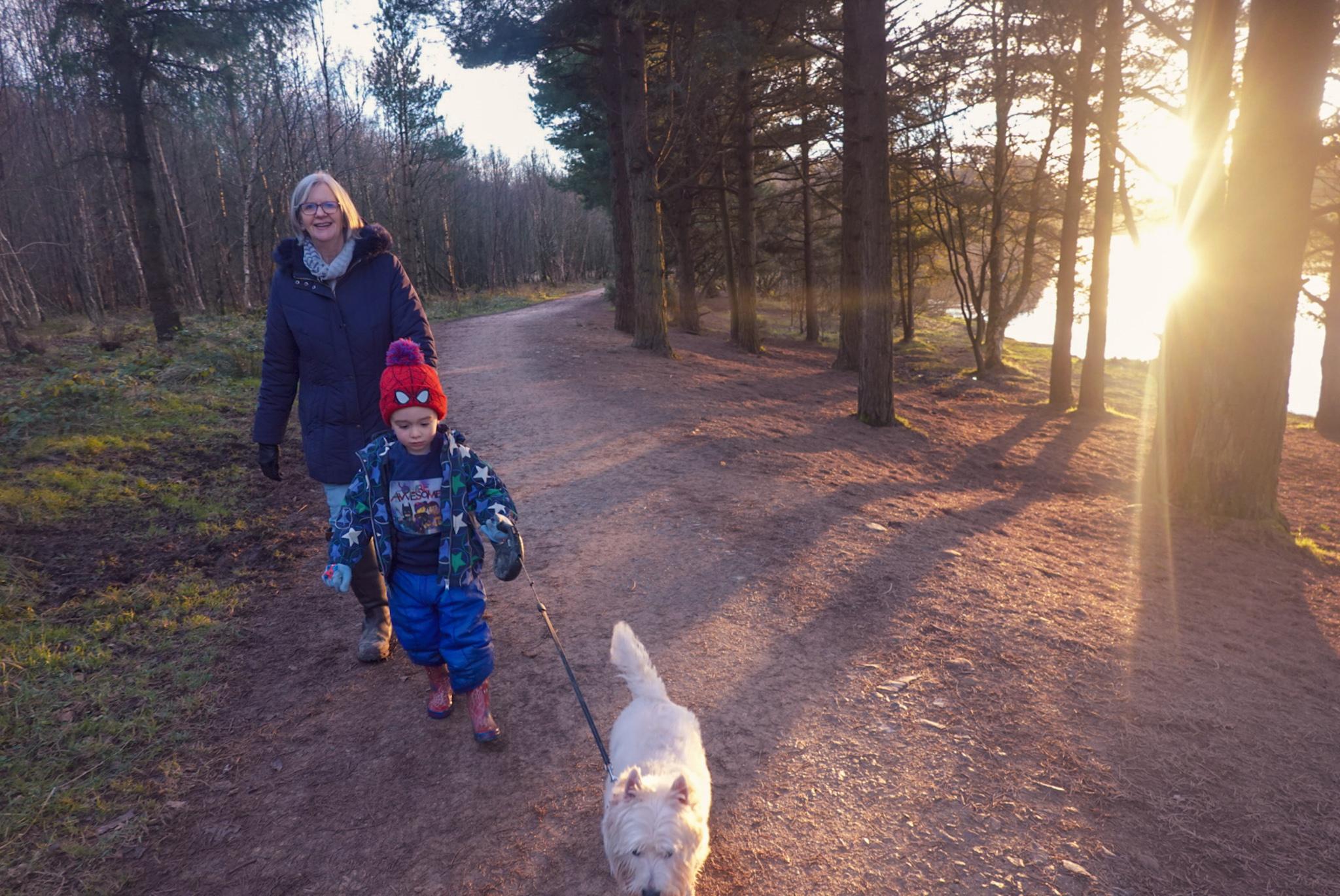 Cod Beck Reservoir walk near Northallerton