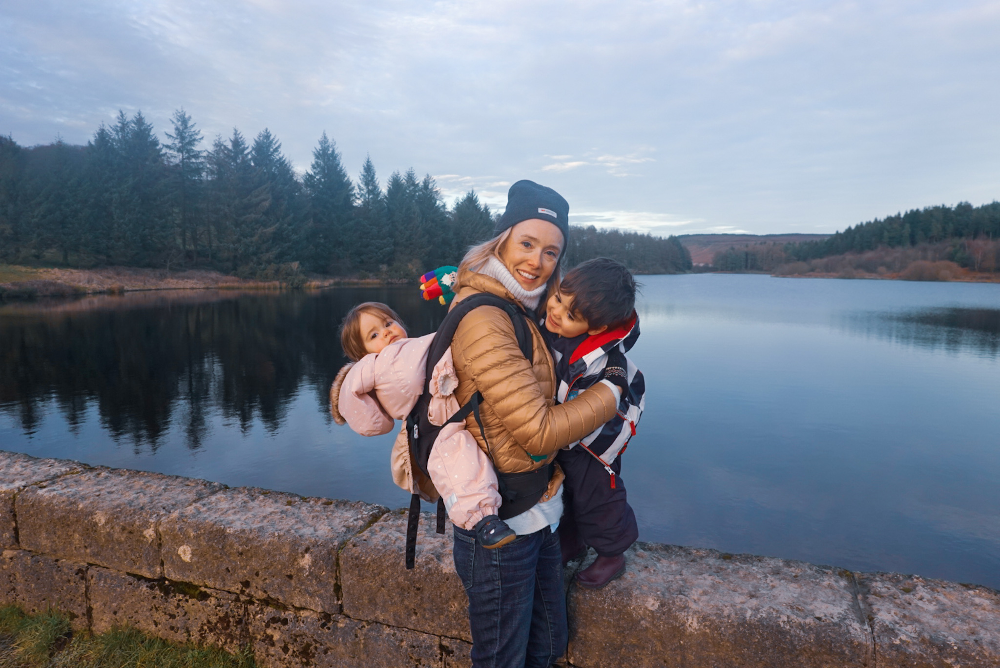 family walk North Yorkshire