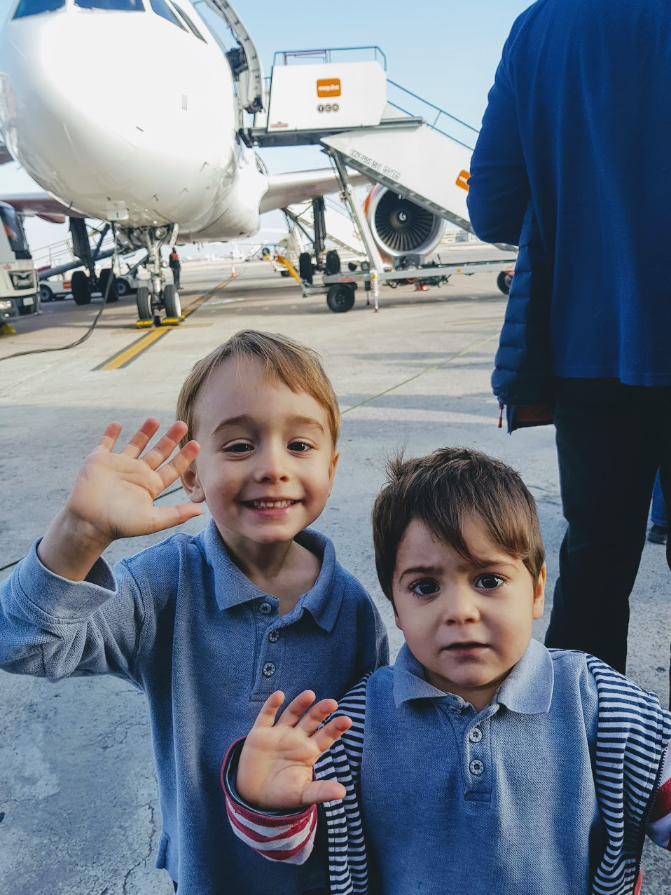 flying with children on EasyJet