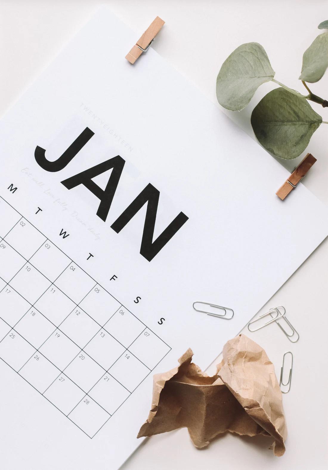 January resolutions