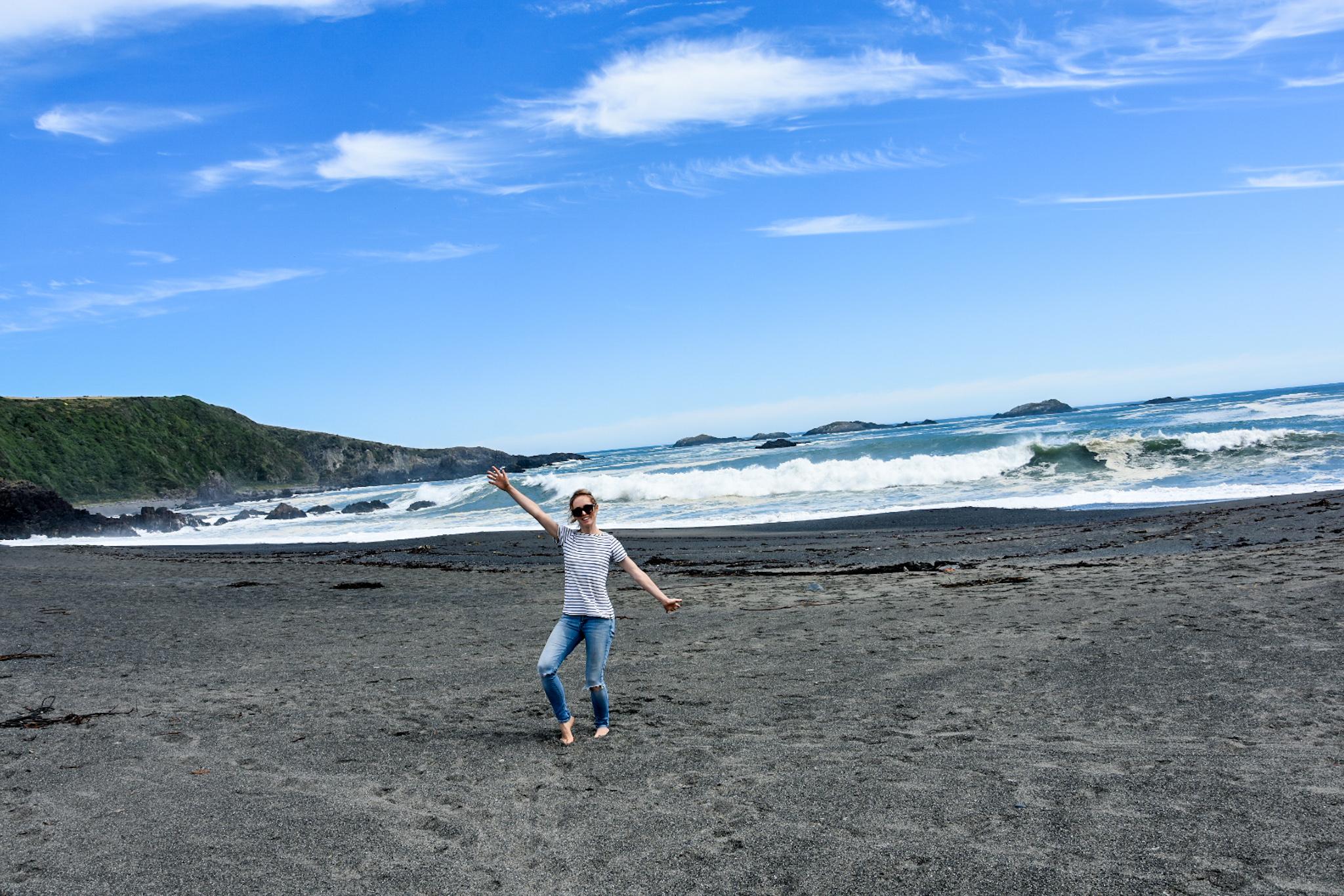 Chiloe island beach