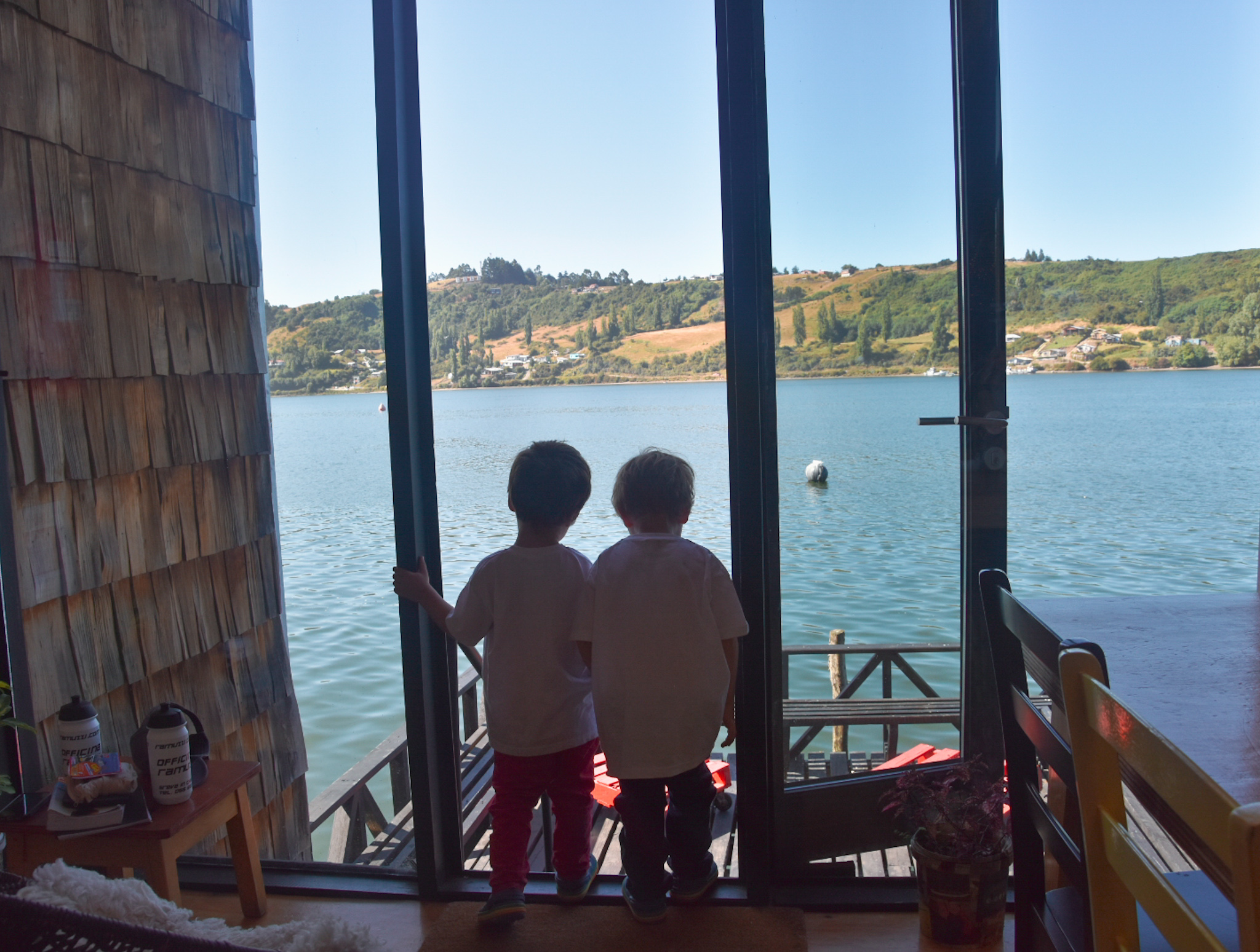 travel with kids to Chiloe