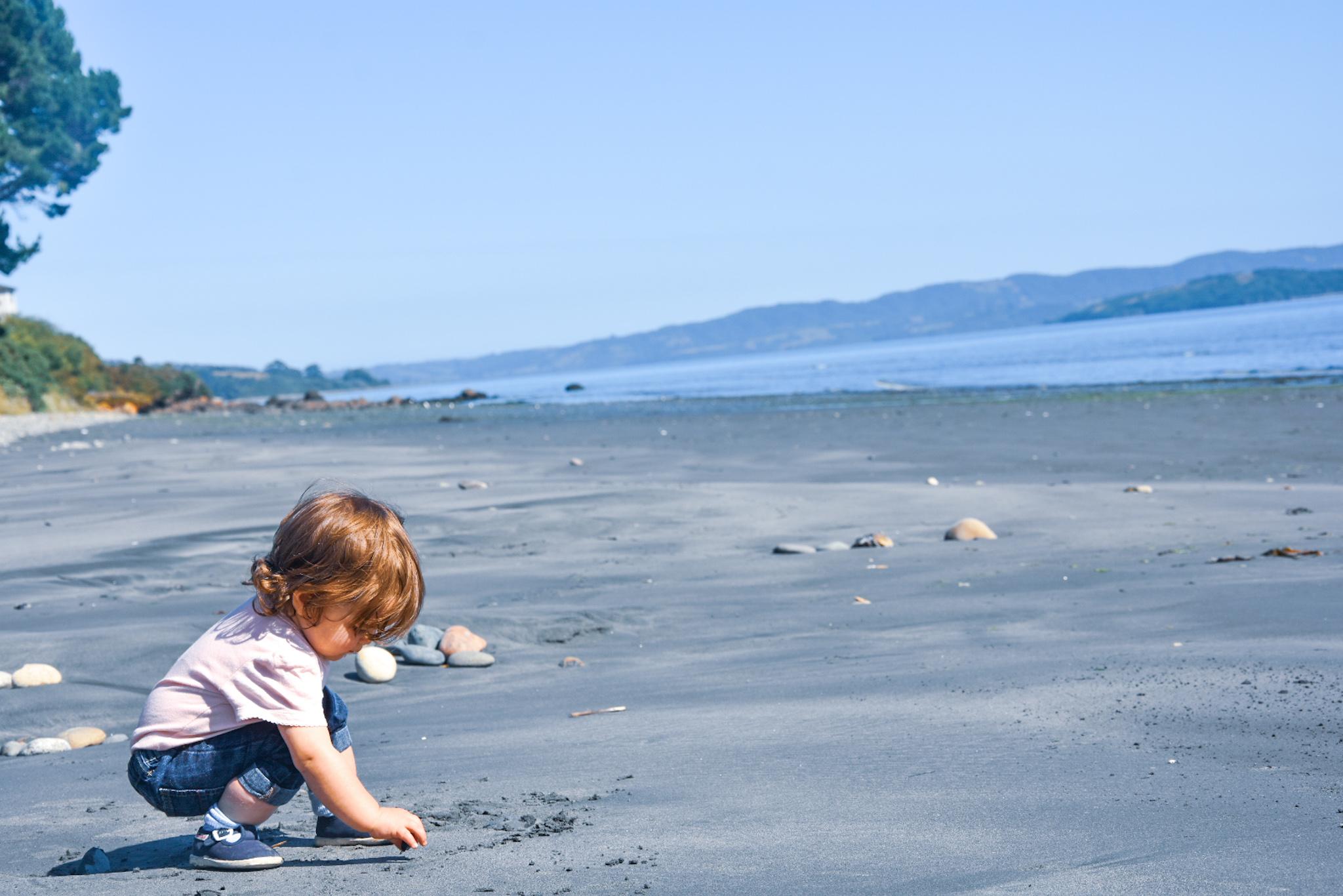 beautiful beach in Chile