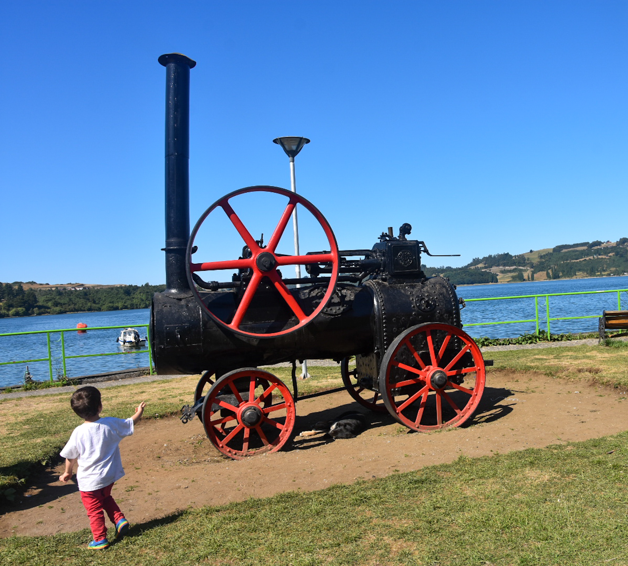 steam engine in Castro