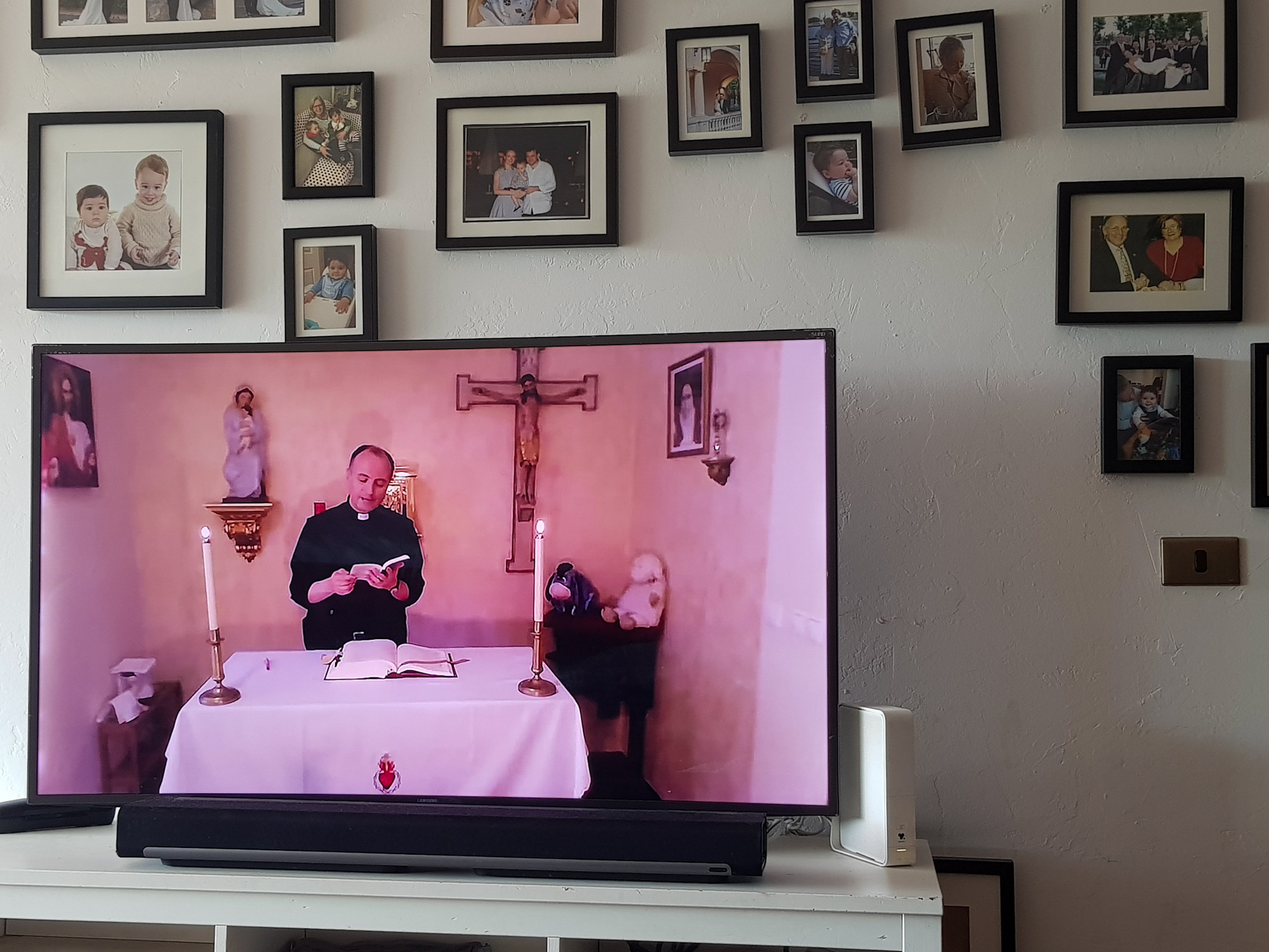 mass at home under quarantine