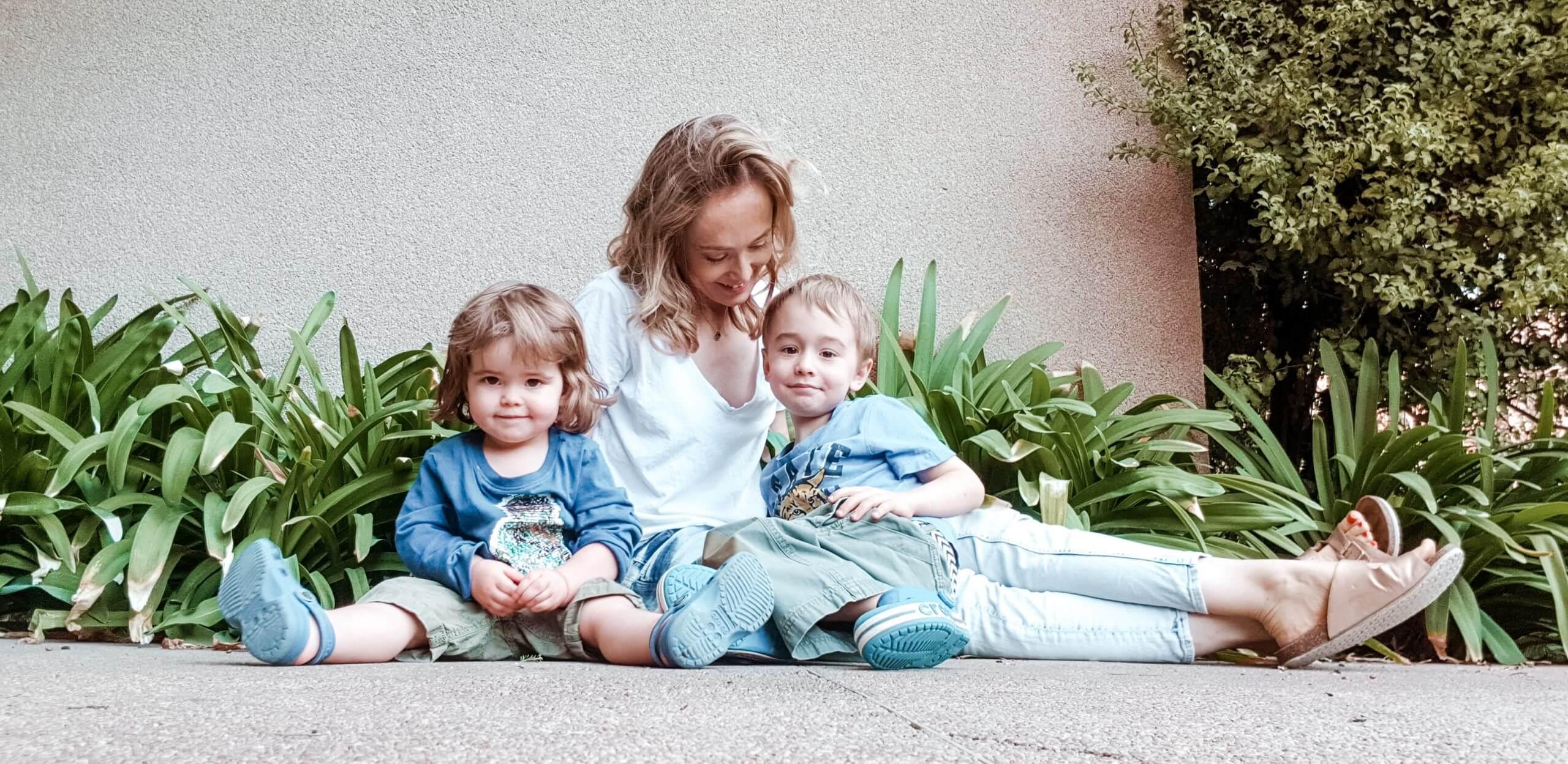expat family in Santiago de Chile