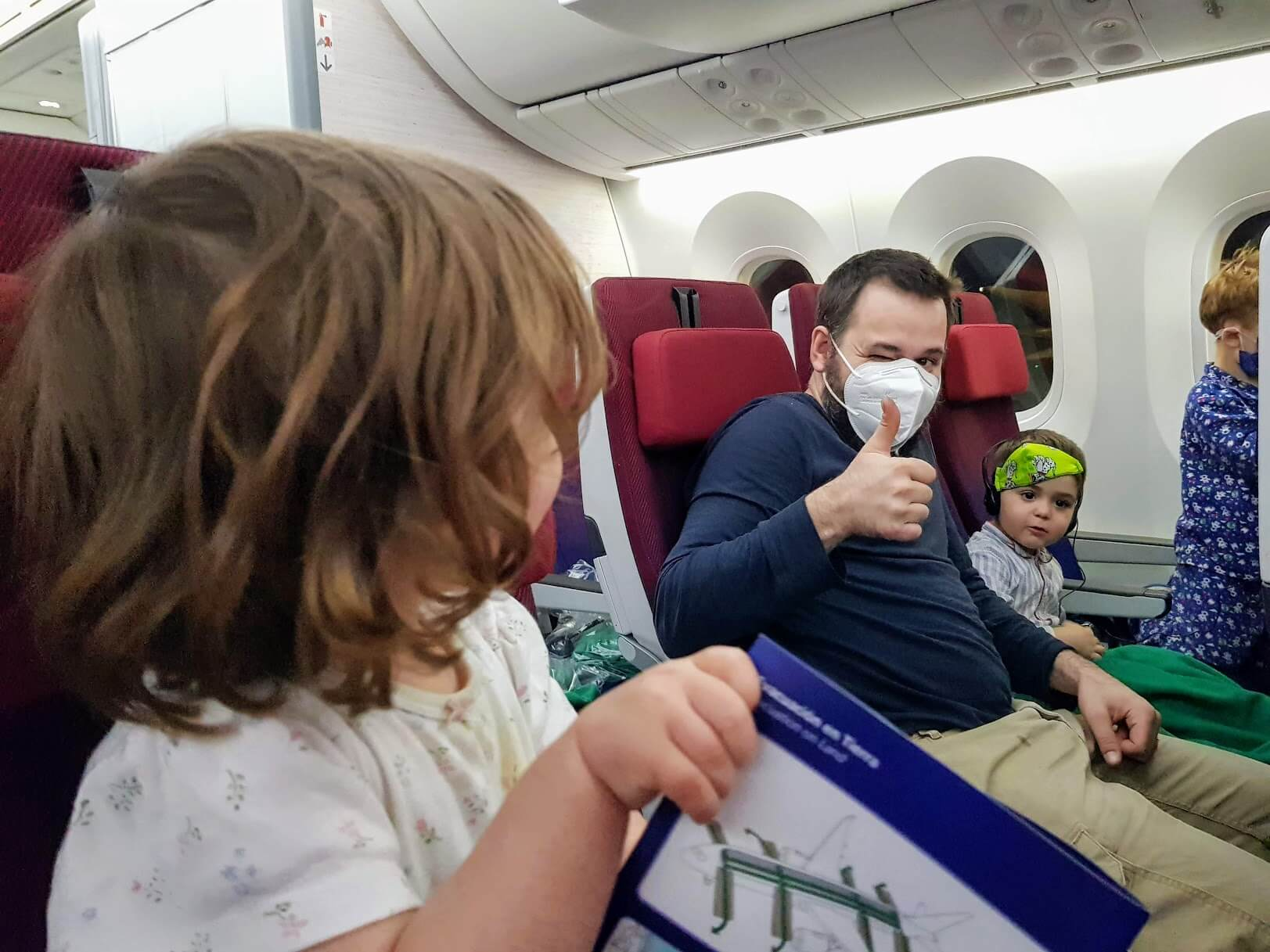 Flying during COVID with a toddler - Santiago to Miami