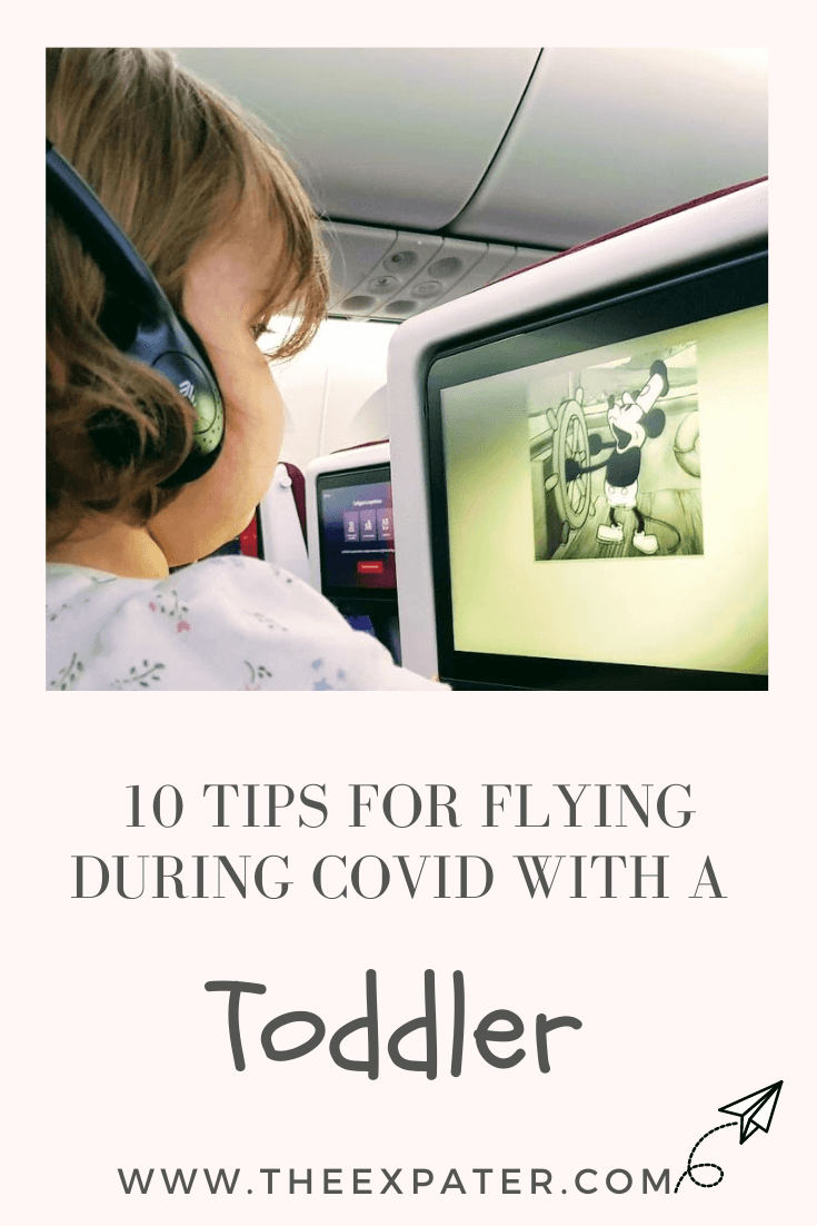 Top 10 tips for flying during COVID with a toddler