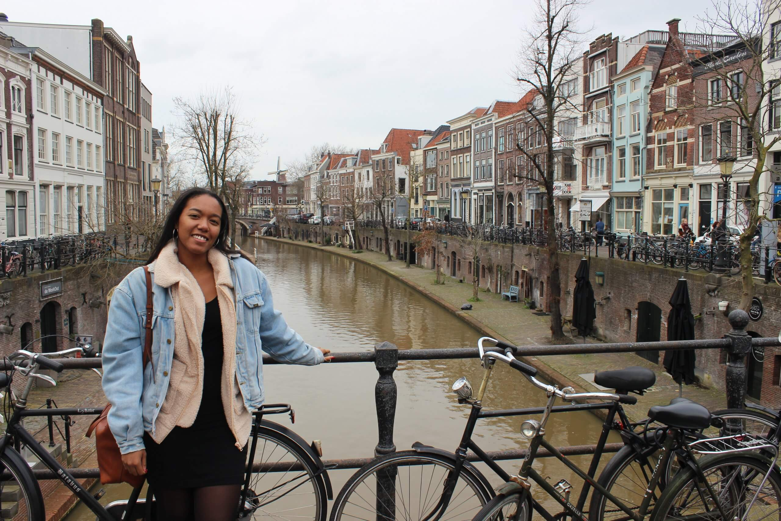 American expat blogger in Holland