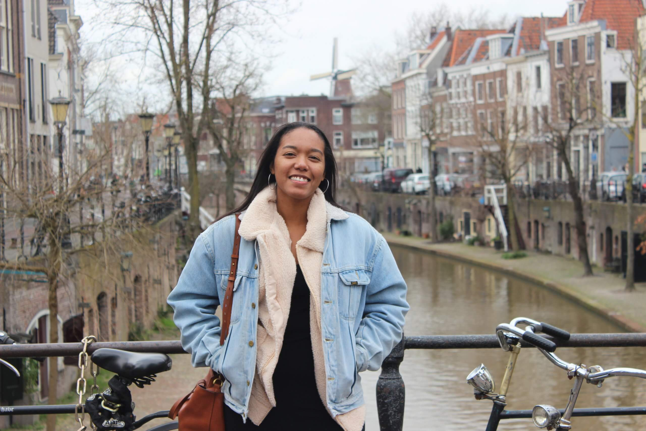 American blogger in Netherlands