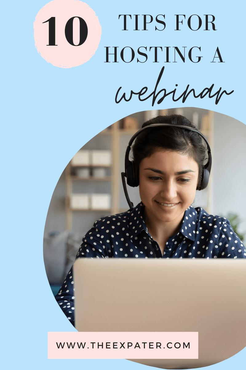 webinar top tips
