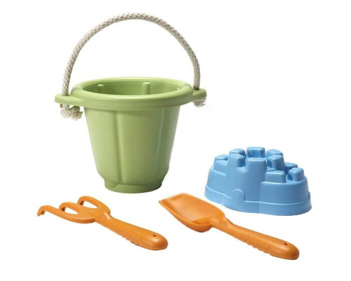 recycled sand bucket & spade