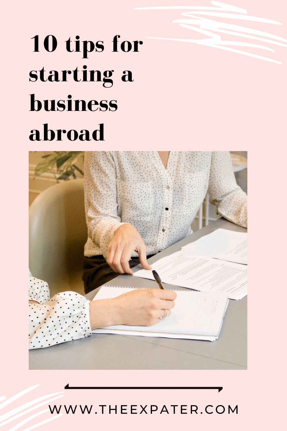 tips for starting a business abroad