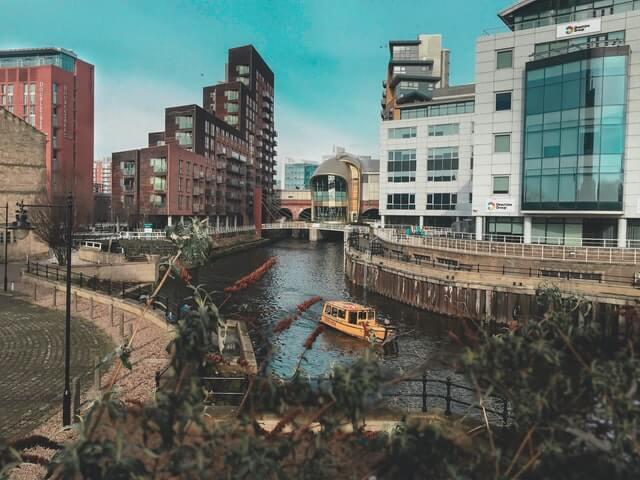 Leeds docks