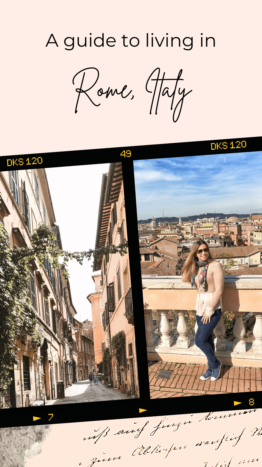 moving to Rome, Italy