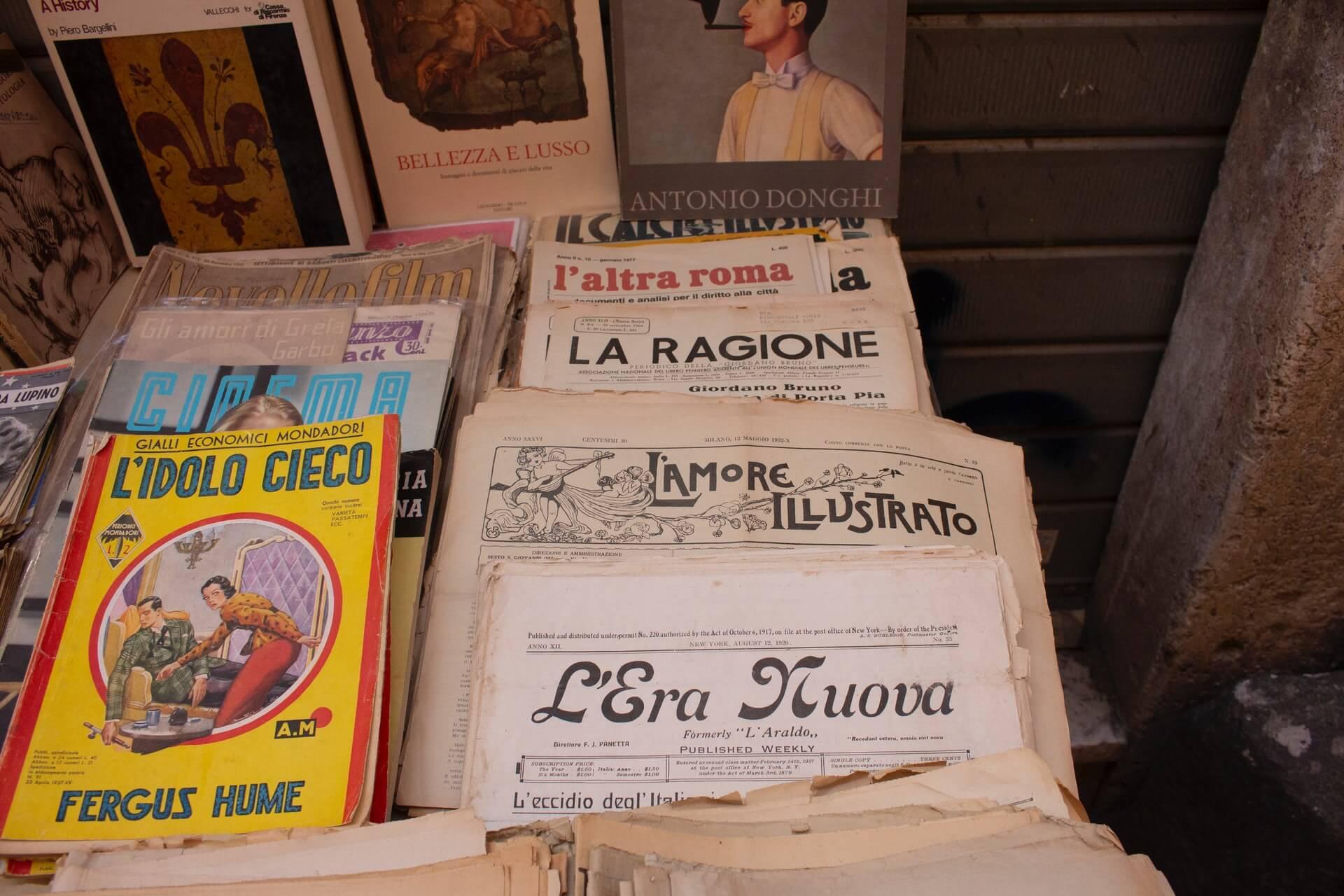 italian newspapers
